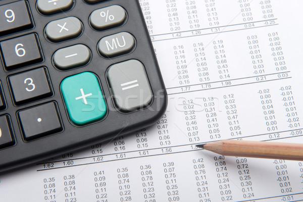 Financial report Stock photo © tangducminh