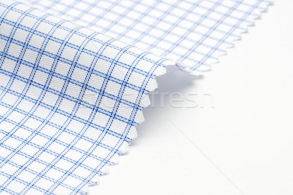 Checkered fabric texture Stock photo © tangducminh