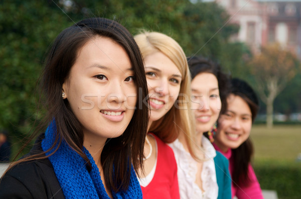 Study abroad students Stock photo © tangducminh