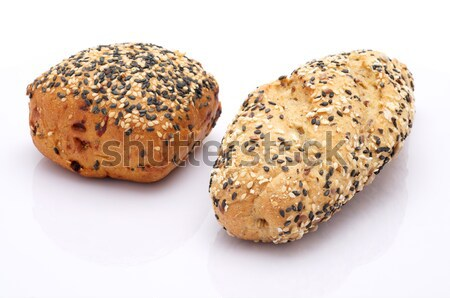Gebroken brood rollen gezonde volkorenbrood goud Stockfoto © tangducminh