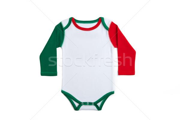 Baby ubrania Włochy krótki rękaw włoski Zdjęcia stock © tangducminh