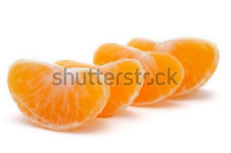 Mandarijn- geïsoleerd witte voedsel gezondheid Stockfoto © tangducminh