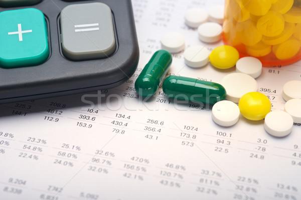 Medical expenses Stock photo © tangducminh