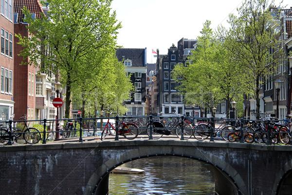 Amsterdam views Stock photo © tannjuska