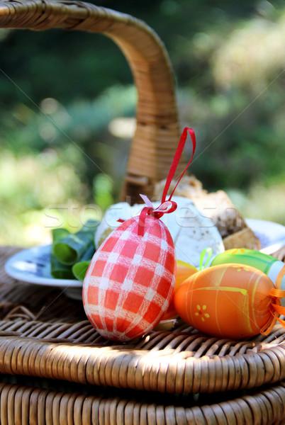 Easter eggs Stock photo © tannjuska