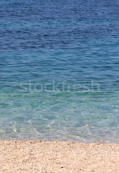 Adriatic sea water Stock photo © tannjuska