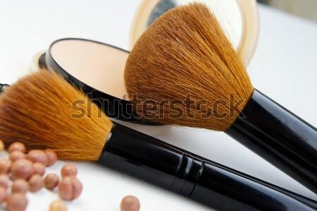 Professionnels maquillage grand cosmétiques mode Photo stock © tannjuska