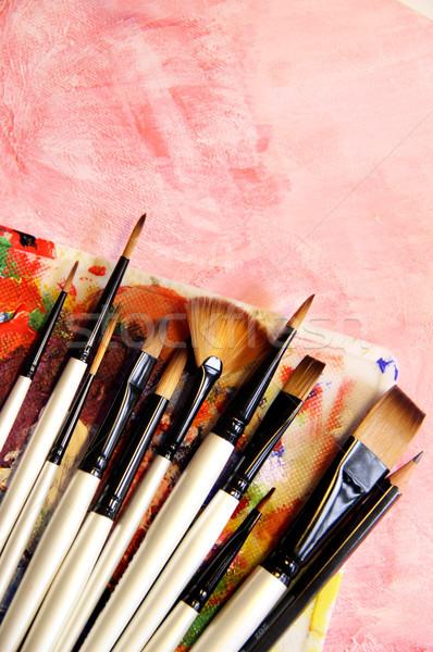 Paintbrush Stock photo © tannjuska