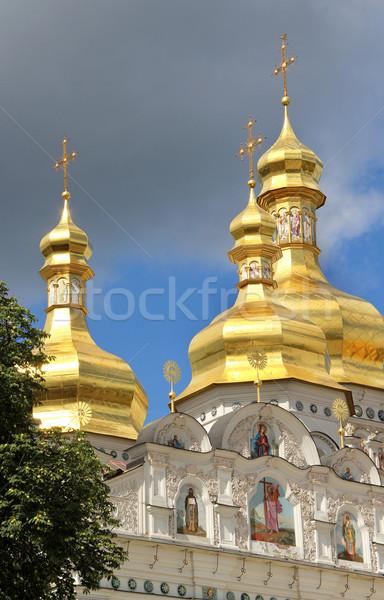 église ville Ukraine bâtiments architecture Europe Photo stock © tannjuska