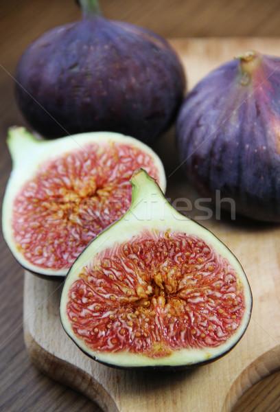Piękna dojrzały świeże tabeli drewniany stół owoców Zdjęcia stock © tannjuska