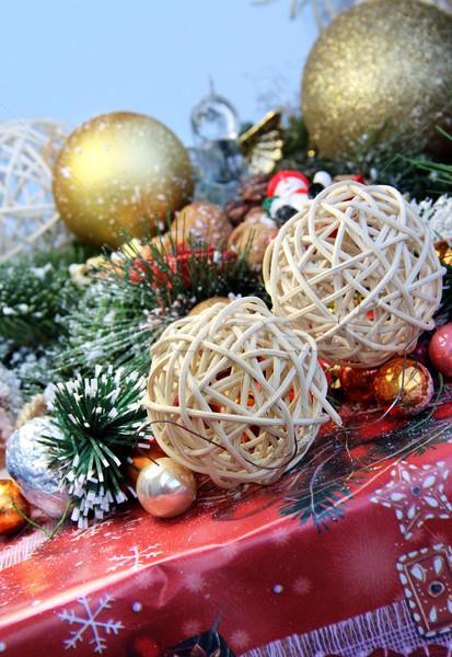 クリスマス 贈り物 装飾 デザイン ストックフォト © tannjuska