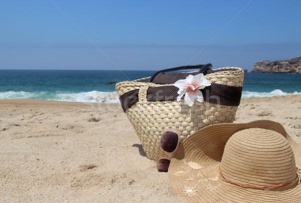 Beach items Stock photo © tannjuska