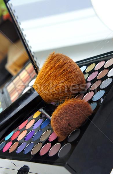 профессиональных макияж палитра лице инструменты Сток-фото © tannjuska
