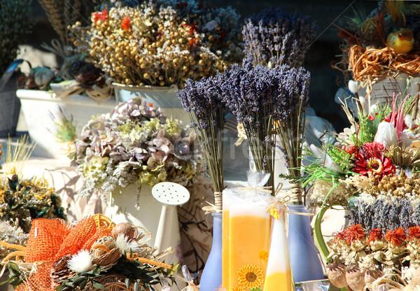 Stockfoto: Natuurlijke · lavendel · kruiden · specerijen · aromatisch · pi