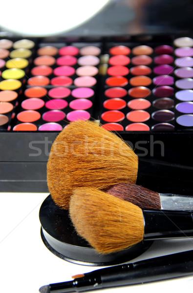 Maquillage chambre grand professionnels cosmétiques Photo stock © tannjuska