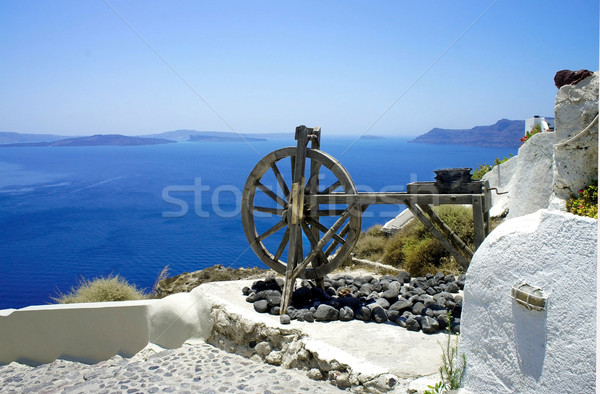 Santorini views Stock photo © tannjuska