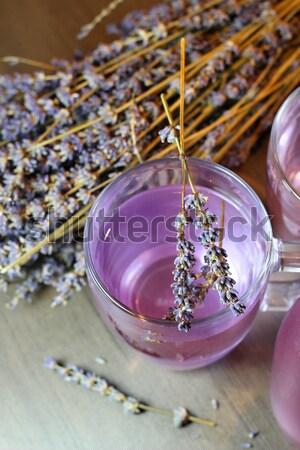 Lawendy kwiaty kosmetycznych kwiat Zdjęcia stock © tannjuska
