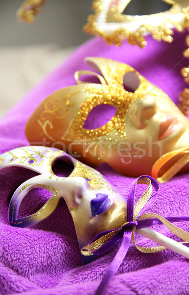 Photo stock: Belle · carnaval · masques · Venise · Italie