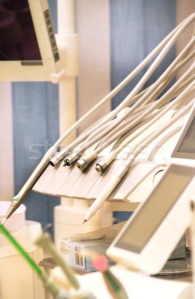 Dental clinic tools Stock photo © tannjuska