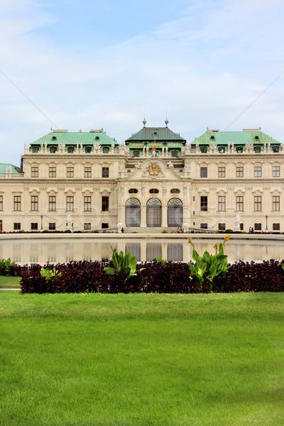 Castle Belveder in Vienna Stock photo © tannjuska