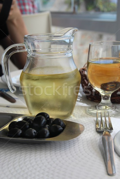 Mediterranean cuisine  Stock photo © tannjuska