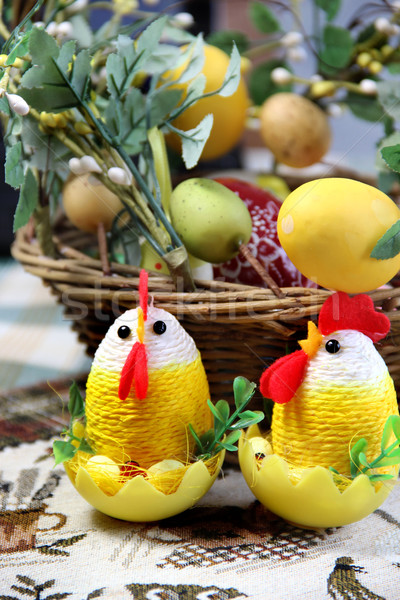 Easter chicken  Stock photo © tannjuska