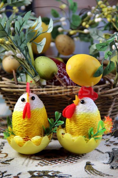 イースター 美しい ハンドメイド 色の卵 食品 ストックフォト © tannjuska