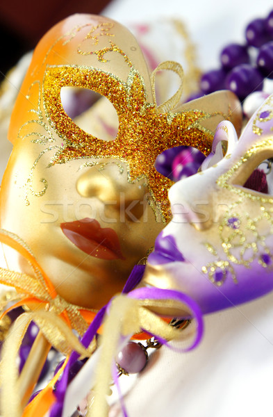 Photo stock: Masques · carnaval · Venise · Italie · visage