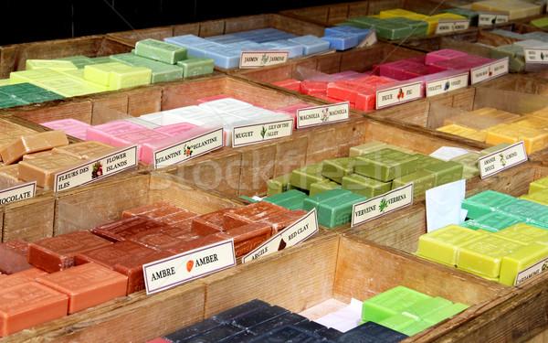 石鹸 お土産 マルセイユ フランス ショップ 市場 ストックフォト © tannjuska