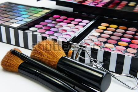 Professional makeup Stock photo © tannjuska