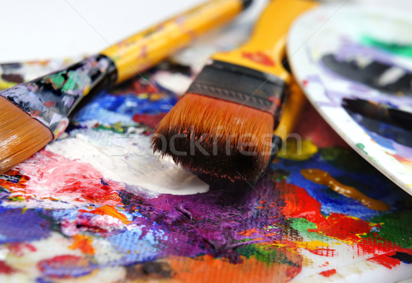 Art palette Stock photo © tannjuska
