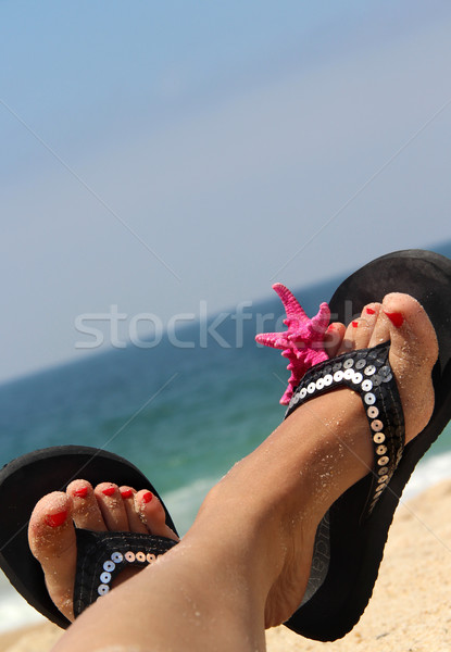 Stock photo: Relaxation on the beach