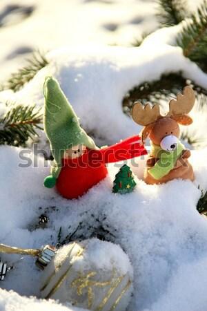 Christmas time with toys Stock photo © tannjuska