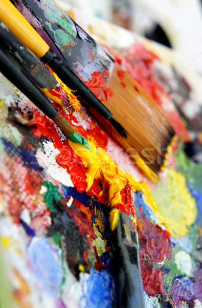 Art palette Stock photo © tannjuska