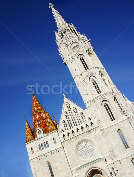 Matthias Church, Budapest, Hungary Stock photo © tannjuska