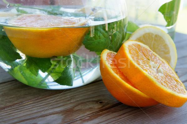 Summer fresh drink Stock photo © tannjuska