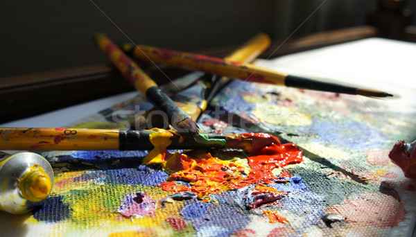 Mixing painting  Stock photo © tannjuska