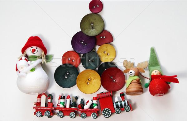 Christmas in creative style  Stock photo © tannjuska