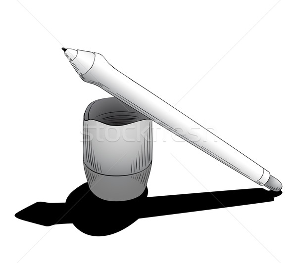Pen for tablet with touchscreen Stock photo © tanya_ivanchuk