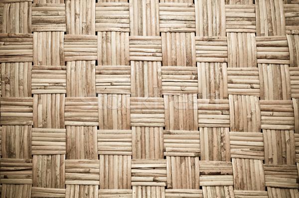 Marrom fundo mobiliário escuro padrão Foto stock © tarczas