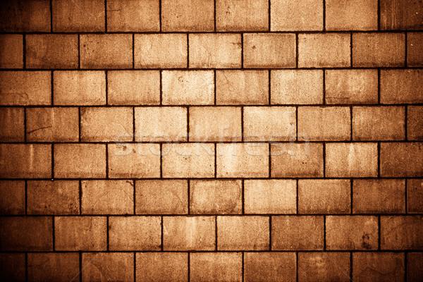 Hoog bruin room muur textuur Stockfoto © tarczas