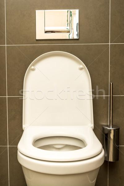 Interior of the room - Toilet in the bathroom Stock photo © tarczas