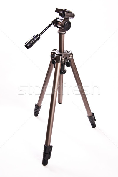 photographic tripod isolated on white background Stock photo © tarczas