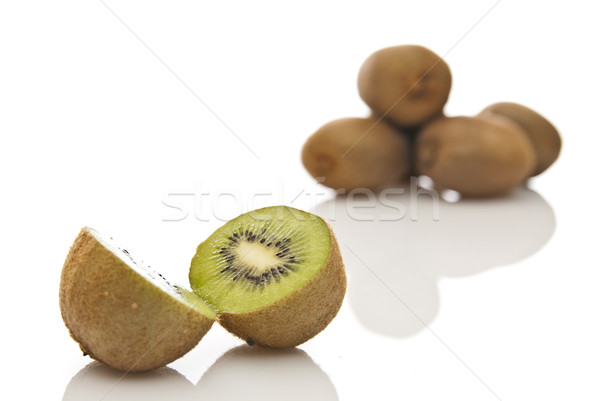 kiwi divided to the halves Stock photo © tarczas