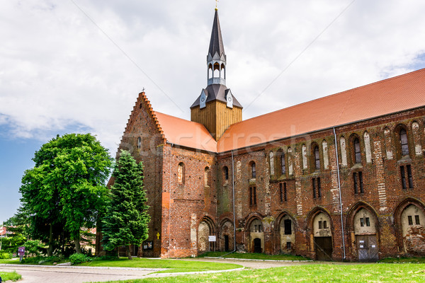 medieval Cistercian monastery in Kolbacz, Poland Stock photo © tarczas