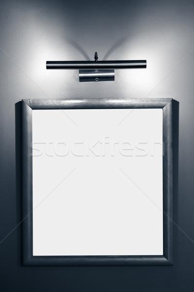 Ramki obrazu lampy ściany tekstury tle Zdjęcia stock © tarczas