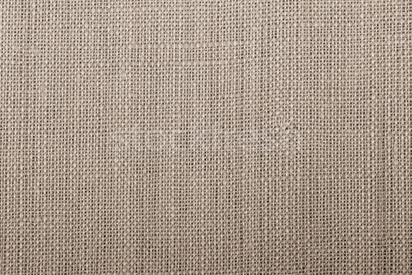 Textúra zsák vászon minta ruha textil Stock fotó © tarczas