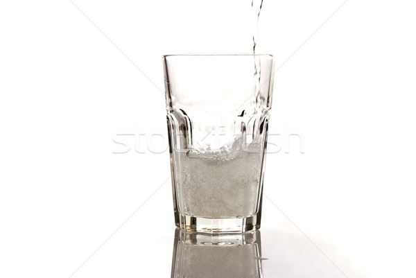 glass of mineral water  Stock photo © tarczas