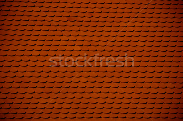 Red Clay Roof Tile Background Stock Photo C Tarczas 2171016 Stockfresh