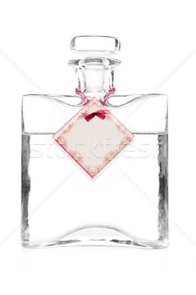 carafe with vodka and empty cotillion on it Stock photo © tarczas